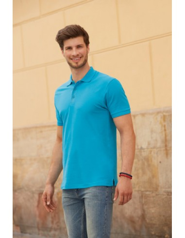 FRUIT OF THE LOOM Premium Uomo Polo...
