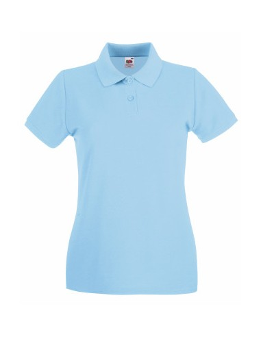 FRUIT OF THE LOOM Premium Donna Polo...